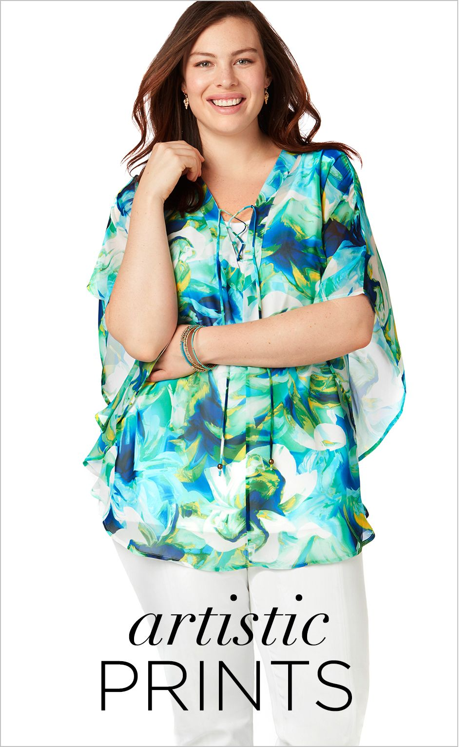 Shop Shirts and Blouses at Catherines Plus Sizes
