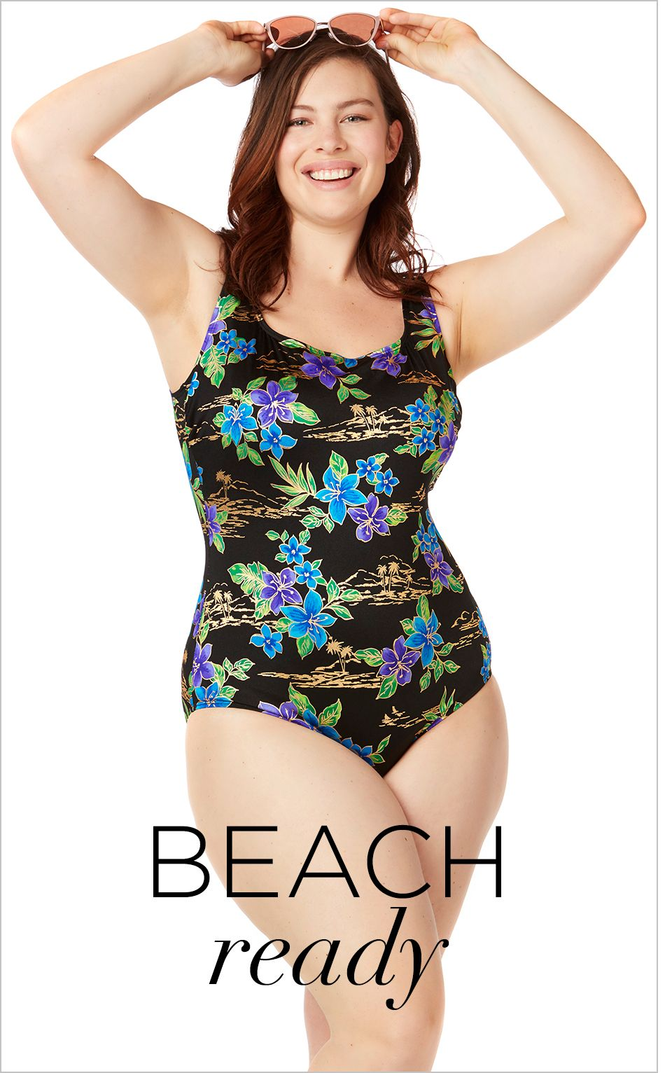 Shop Swim at Catherines Plus Sizes