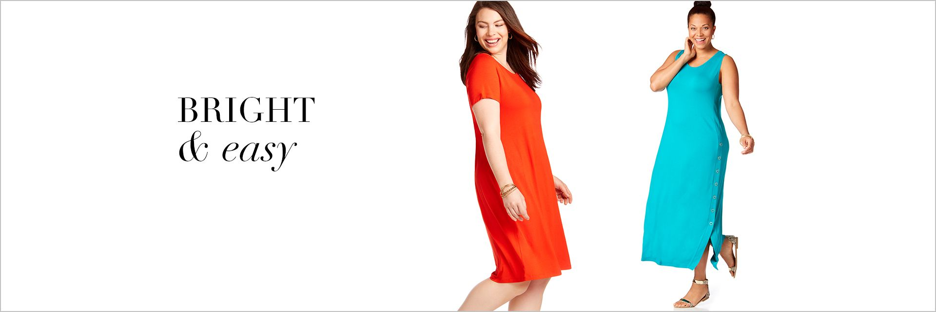 Shop Dresses at Catherines Plus Sizes