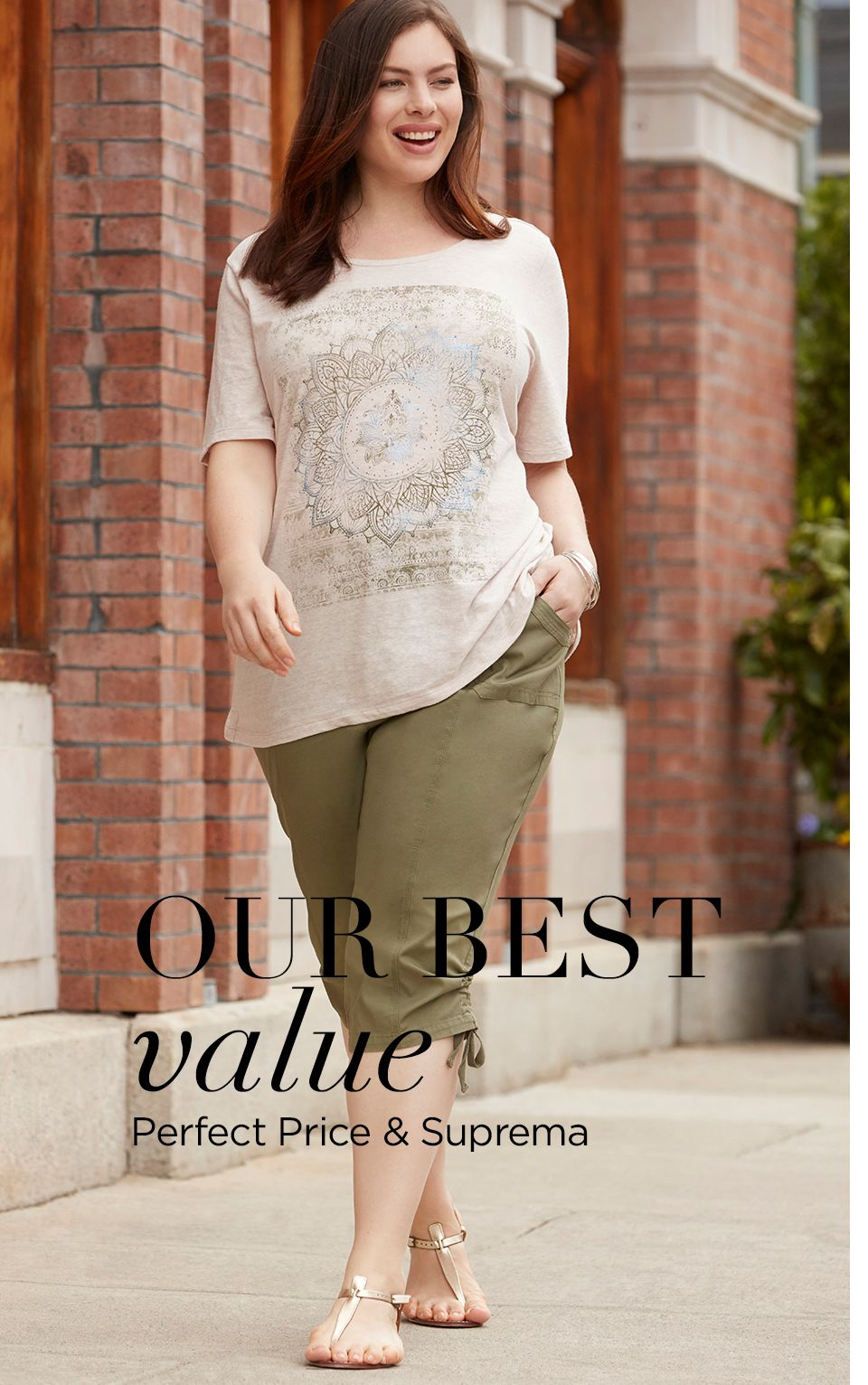 Shop Perfect Price at Catherines Plus Sizes
