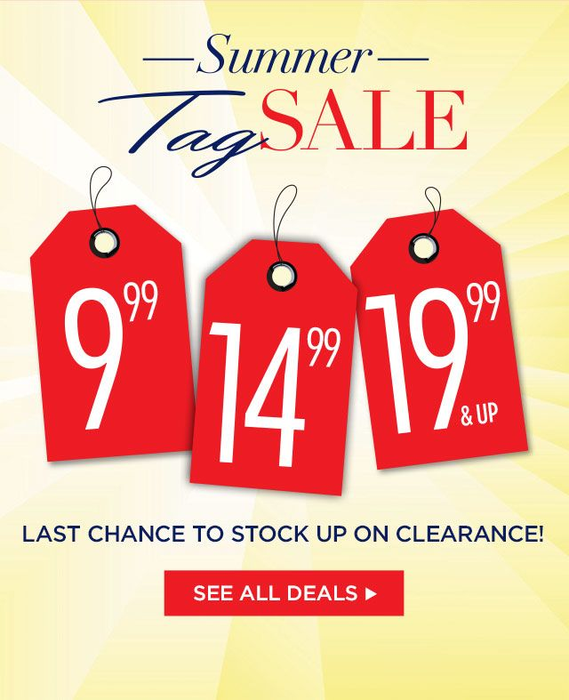 Clearance Buy One Get One Free at Catherines Plus Sizes