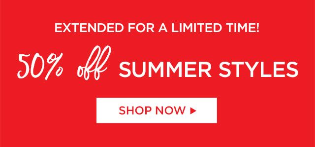 50% Off Summer Styles at Catherines Plus Sizes
