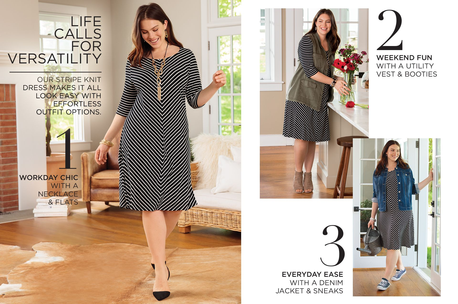 Shop Life Well Styled at Catherines Plus Sizes