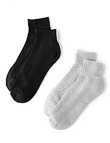 Athletic 2-Pack Ankle Socks