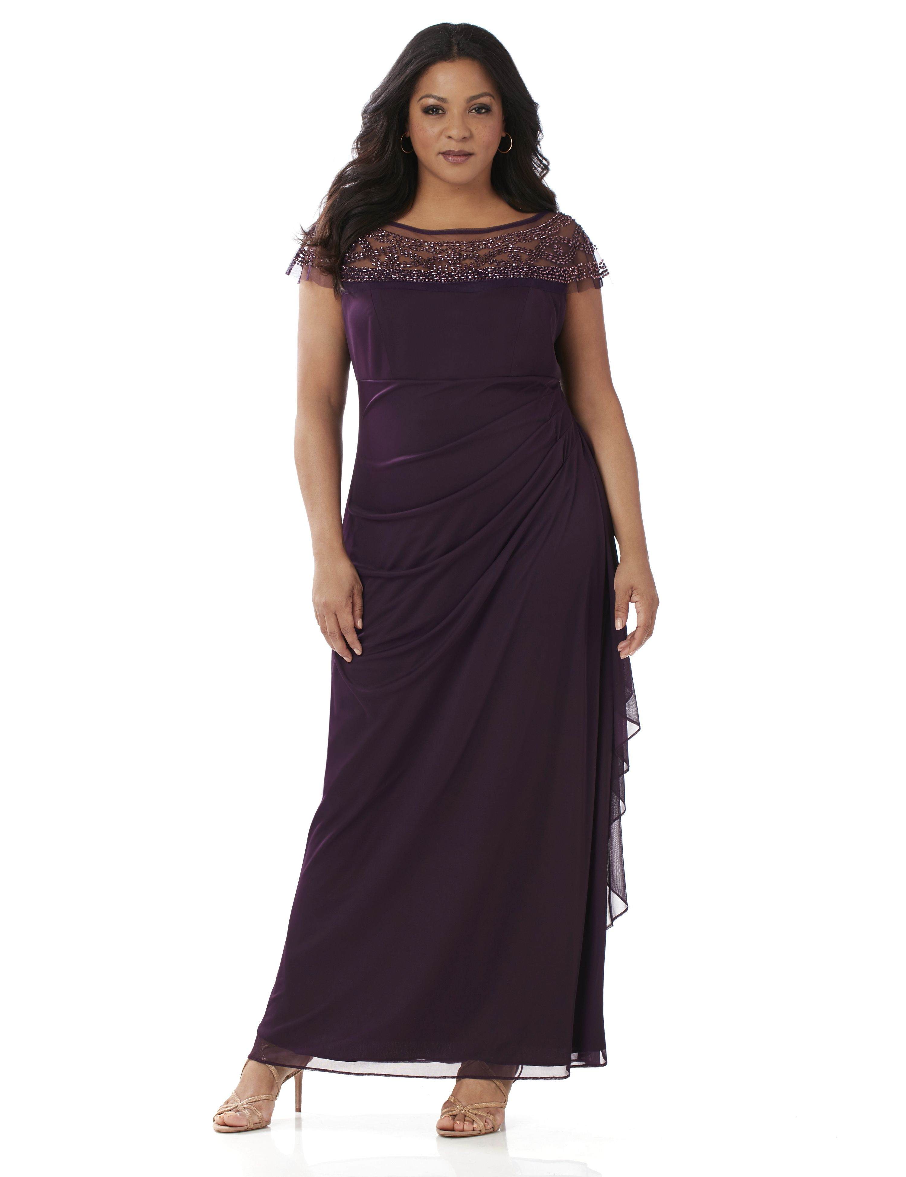 Plus Size Formal Dresses - Evening Dresses &amp Gowns  Catherines