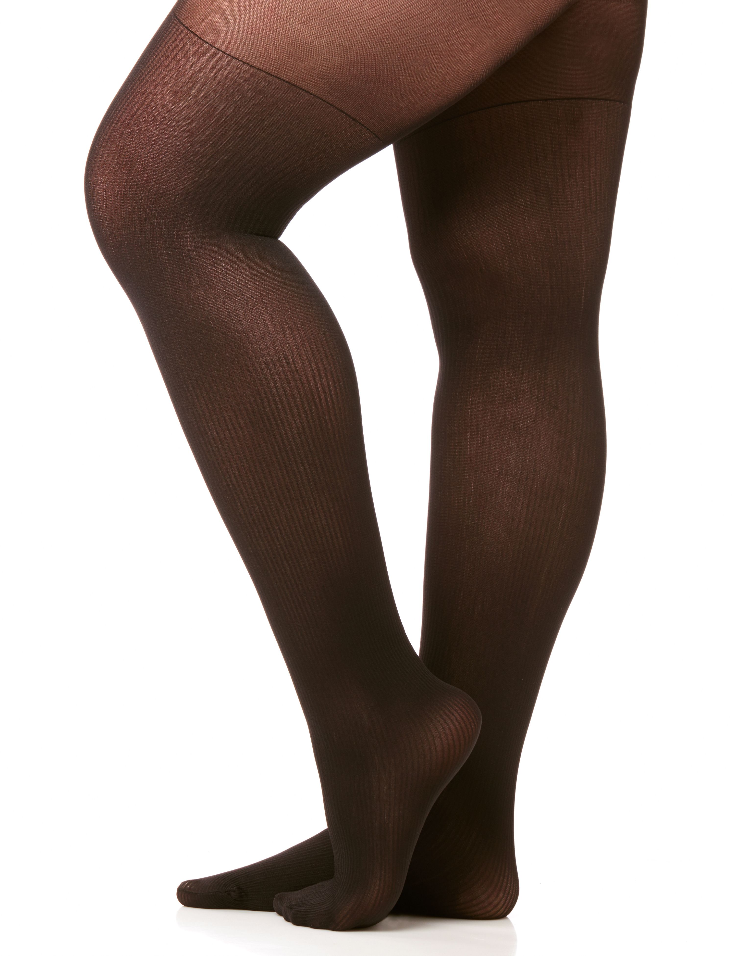 Ribbed Opaque Tights 300044929
