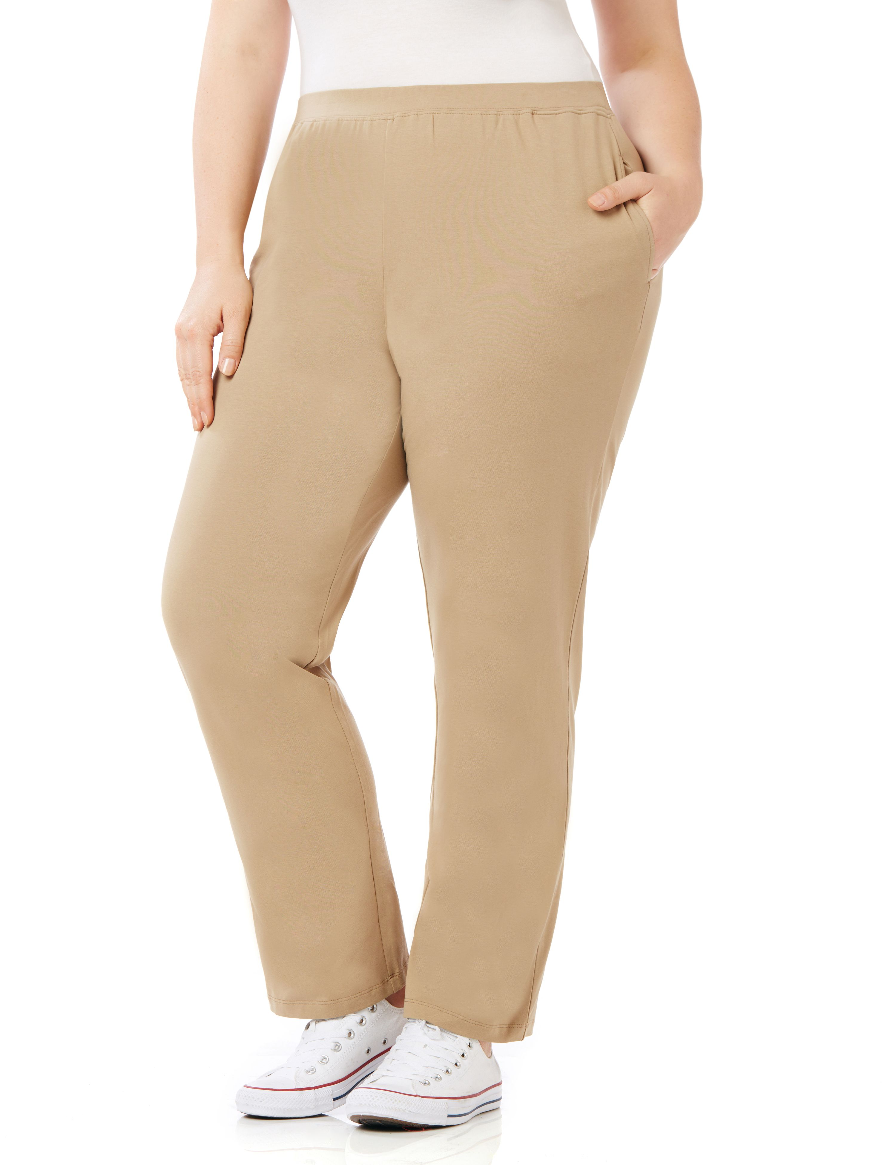 1dc07f81077da UPC 400000350608 product image for By Suprema Essentials by Catherines Plus  Size Suprema Knit Pant (
