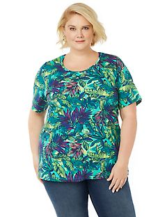 Tropical Fusion Tee