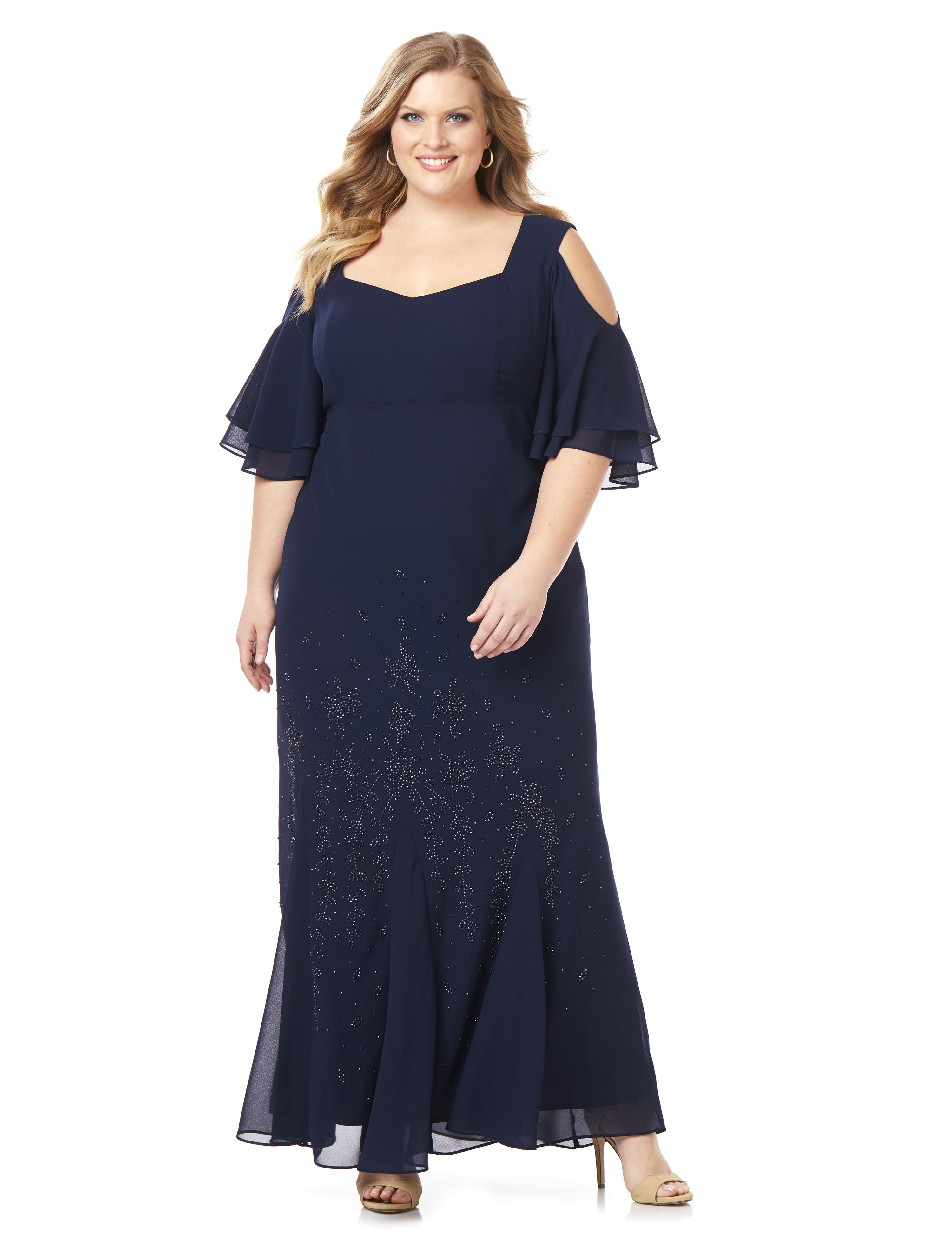 Plus Size Formal Dresses - Evening Dresses & Gowns | Catherines