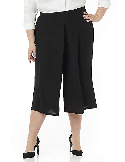 Black Label Pleated Gaucho