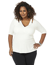 Curvy Collection Delaney Top
