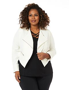 Women's Plus Size Jackets for Spring in Denim & More | Catherines