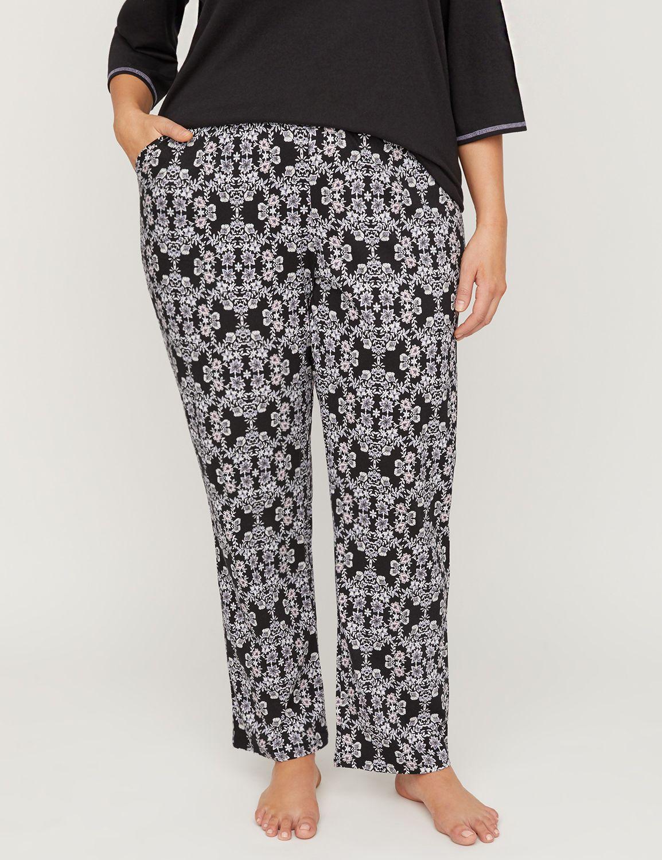 c75a07c9f54 Orchid Imprint Cozy Cotton Sleep Pant | Catherines