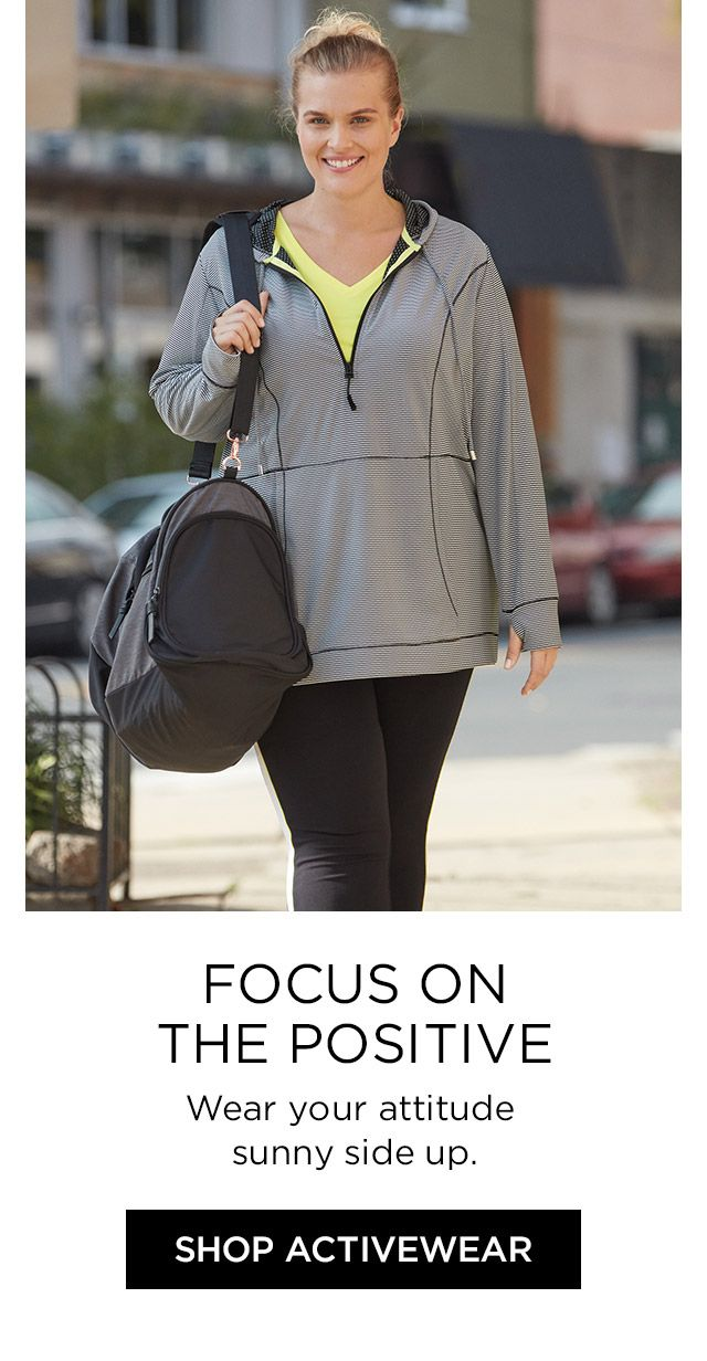 Shop Active at Catherines Plus Sizes