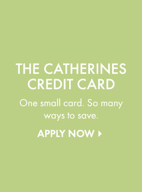 Apply for a credit card at Catherines Plus Sizes