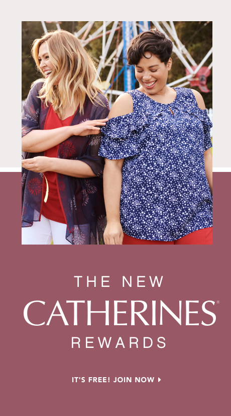 Join Catherines Rewards at Catherines Plus Sizes