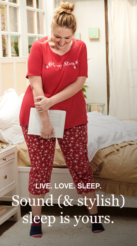 a88781ef83f Women s Plus Size Sleepwear   Loungewear