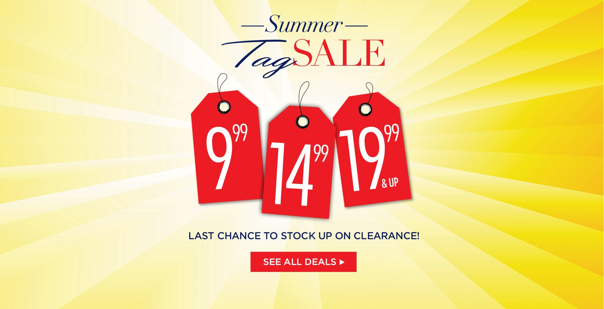 Summer Tag Sale at Catherines Plus Sizes