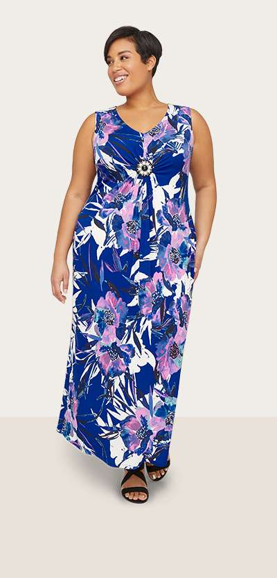 Women S Plus Size Dresses Gowns Catherines