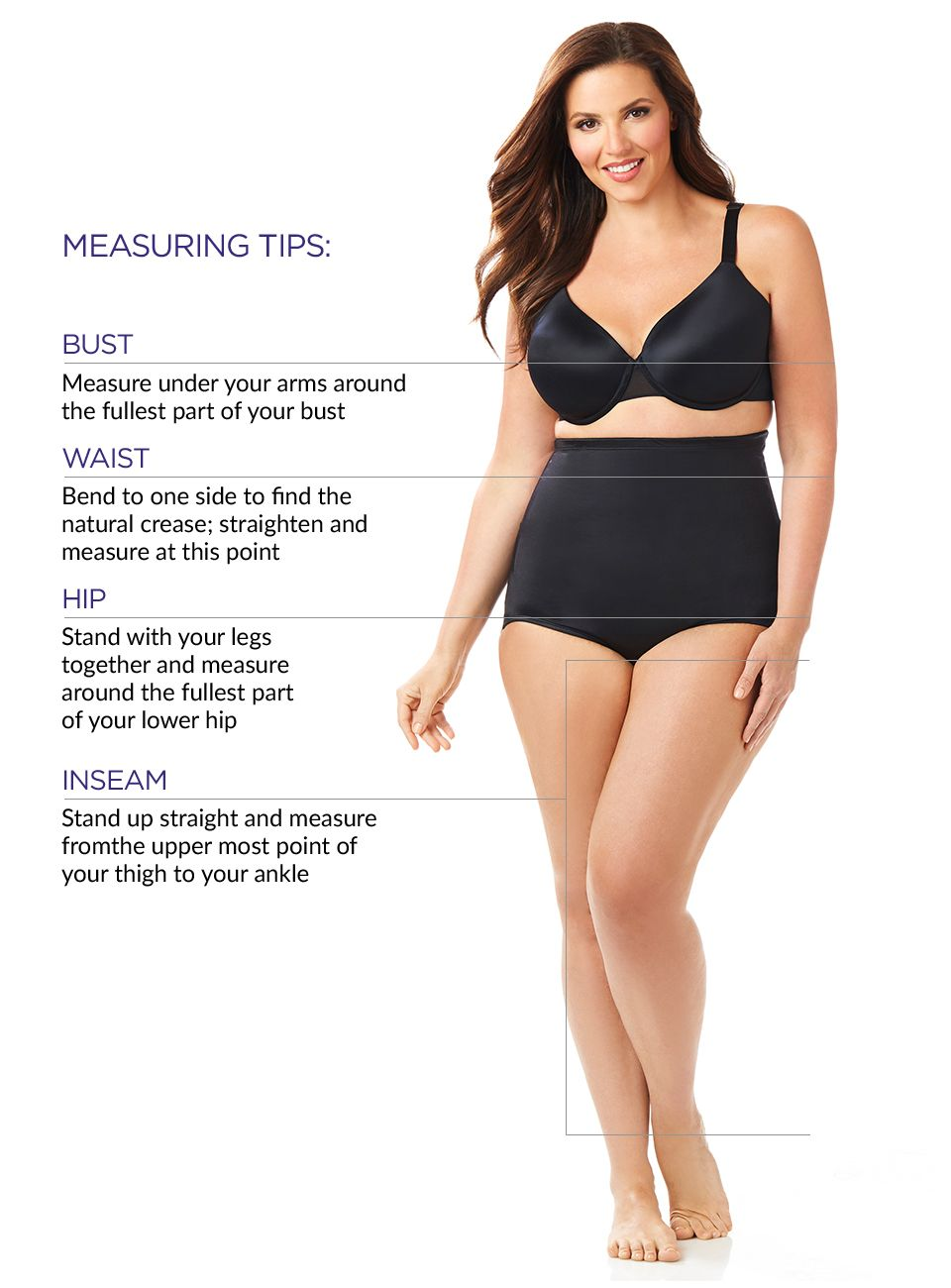 bd57949255 ... shape; Swimwear that offers extra support with premium stretch material  and tummy-control panels