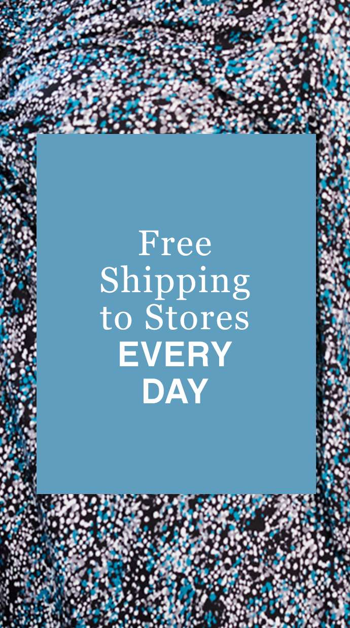 Free Shipping to Stores Every Day