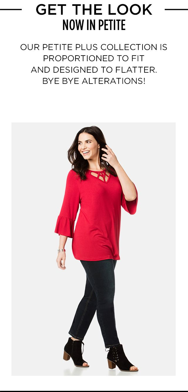 Shop Petite Shop at Catherines Plus Sizes