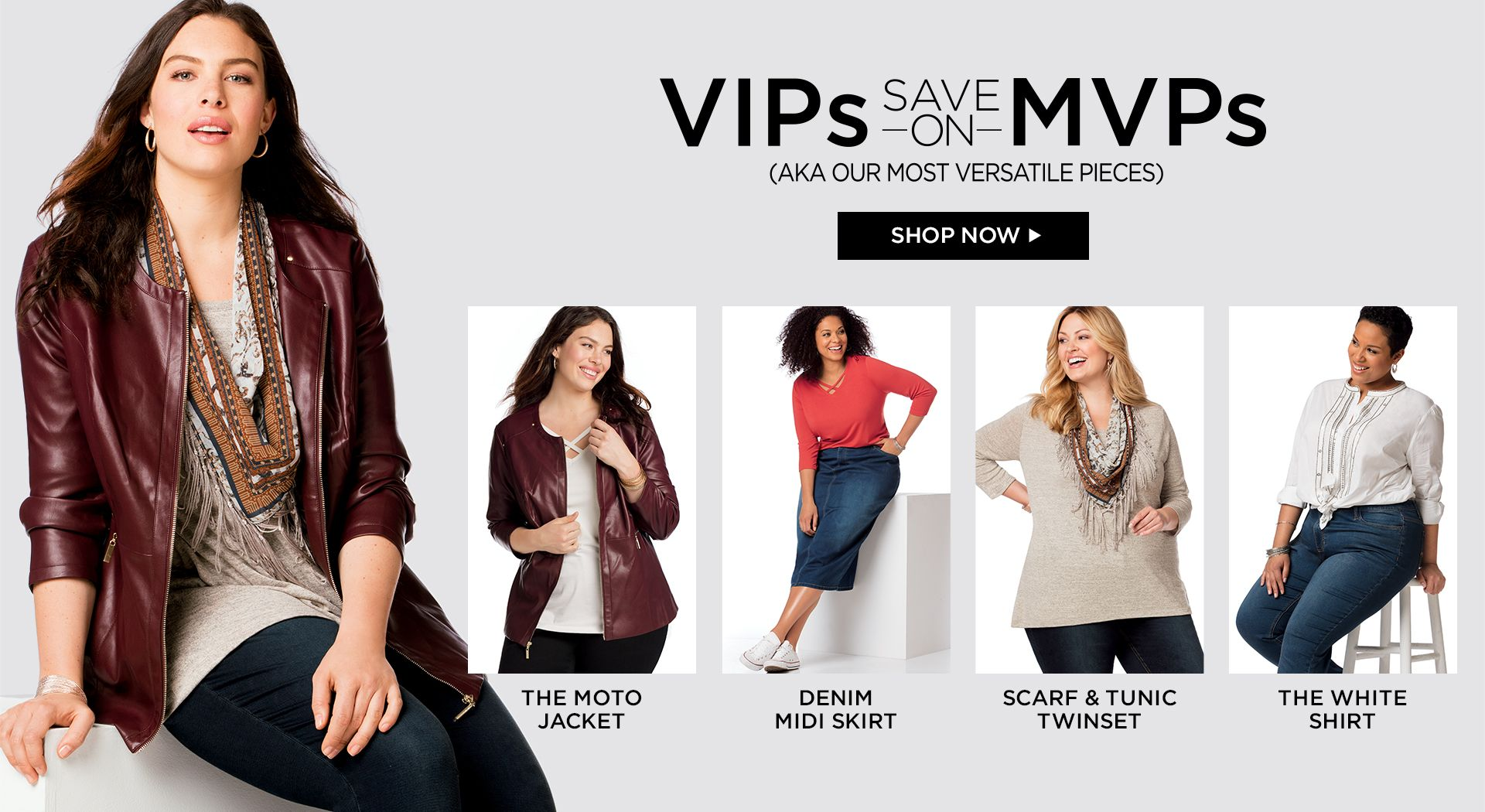 Shop MVPs at Catherines Plus Sizes