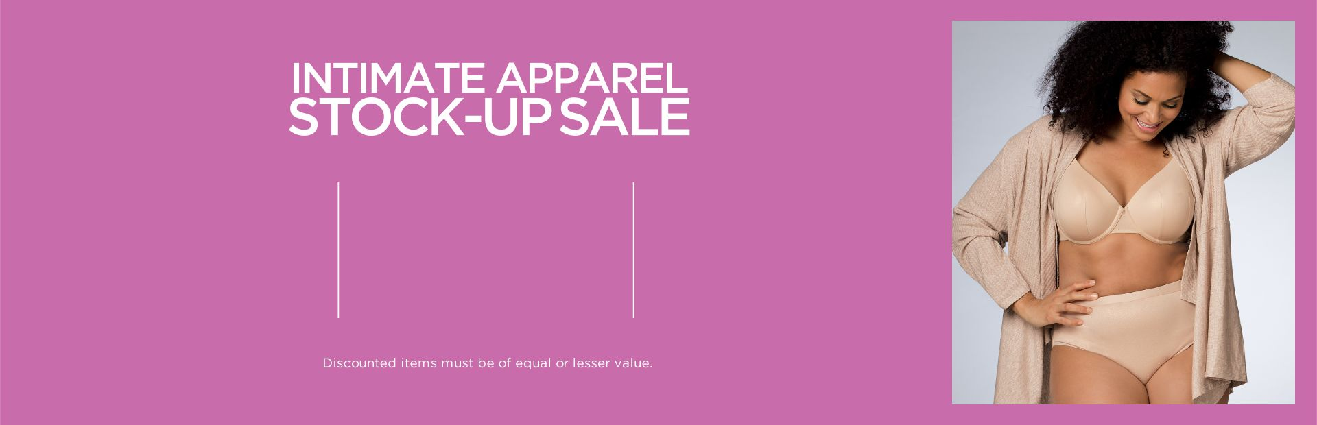 Shop Intimates Stock Up Sale at Catherines Plus Sizes