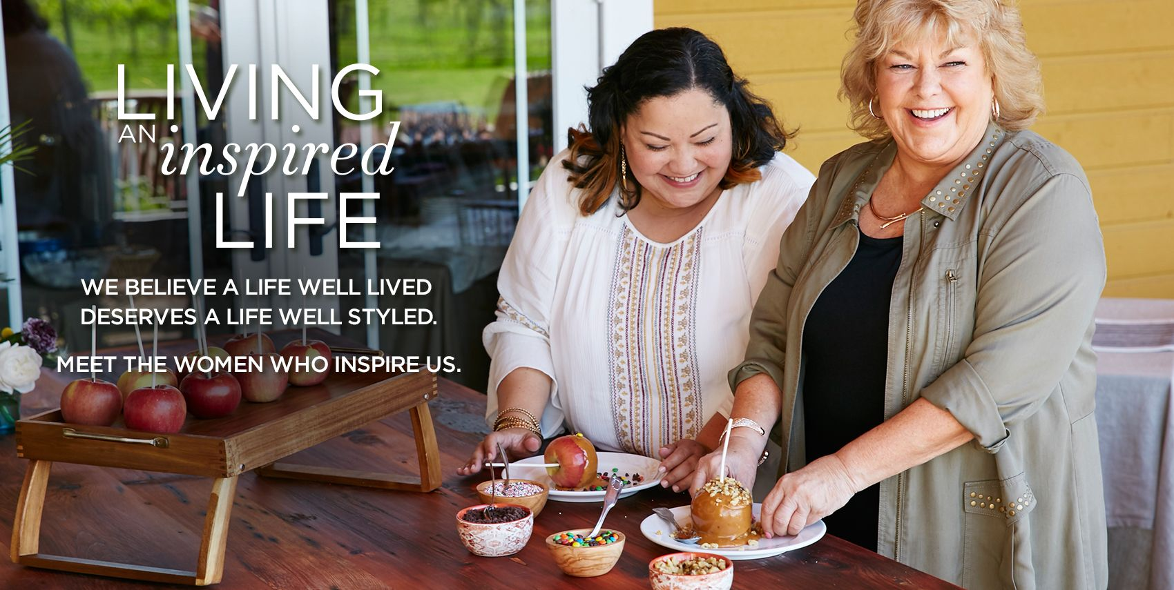 Living An Inspired Life at Catherines Plus Sizes