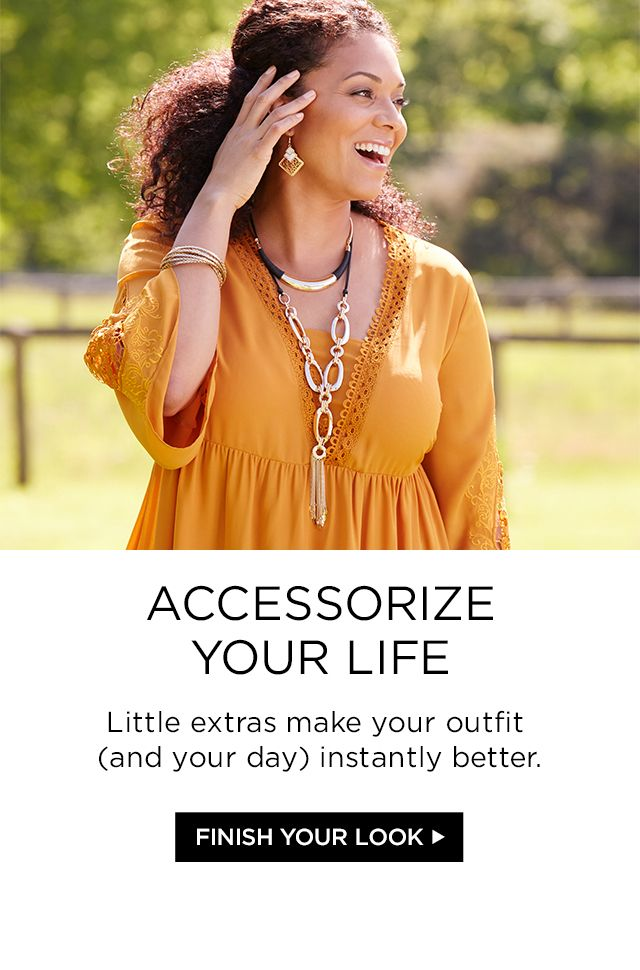 Shop Accessories at Catherines Plus Sizes