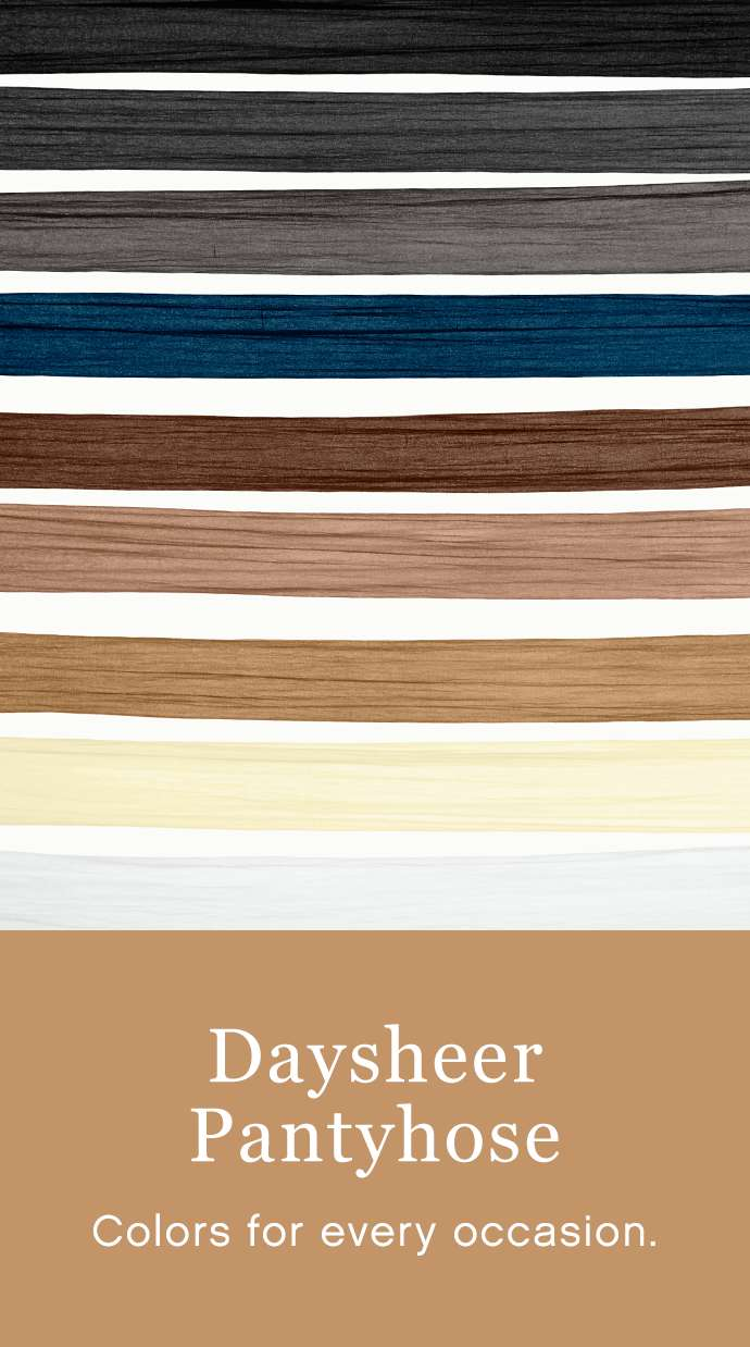 Daysheer pantyhose - colors for every occasion.