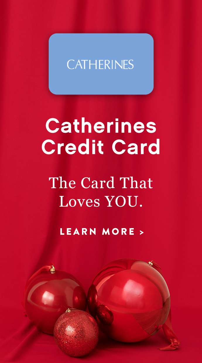 Join Catherines Credit Card: The Card that Loves YOU