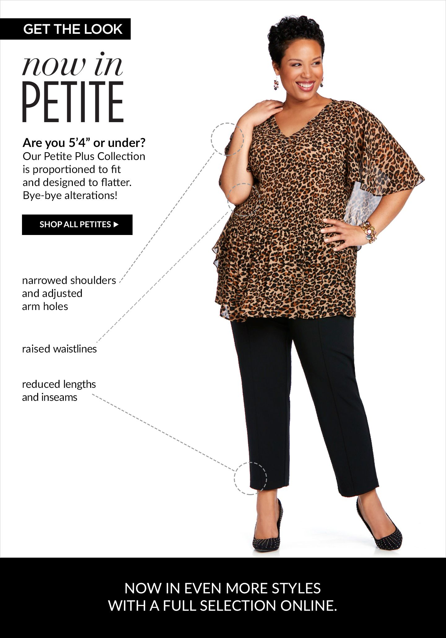 petite shop - plus size petite clothing collection | catherines