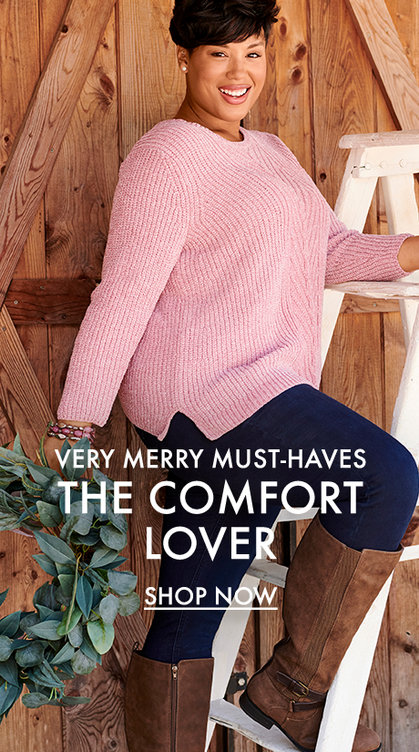 Verry Merry Must-Haves for the Comfort Lover