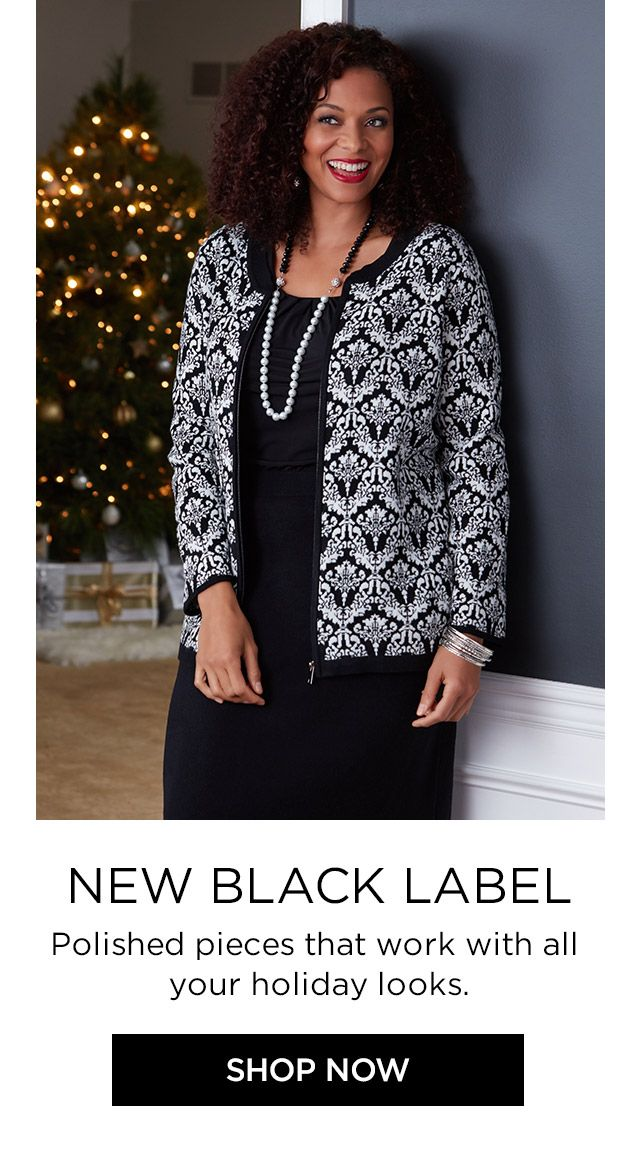 Shop Black Label at Catherines Plus Sizes