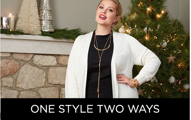 Shop One Style, Two Ways at Catherines Plus Sizes