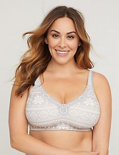 Fashion No-Wire Cotton Comfort Bra