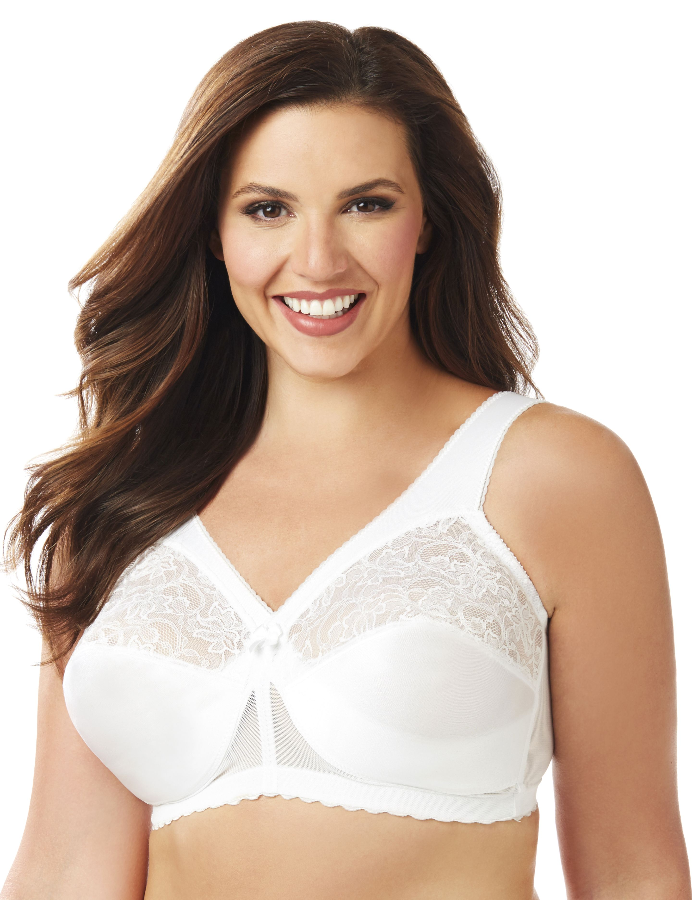 Glamorise 1000 Magic Lift No-Wire Bra Glamorise 1000 Magic Lift No-Wire Bra MP-000003386