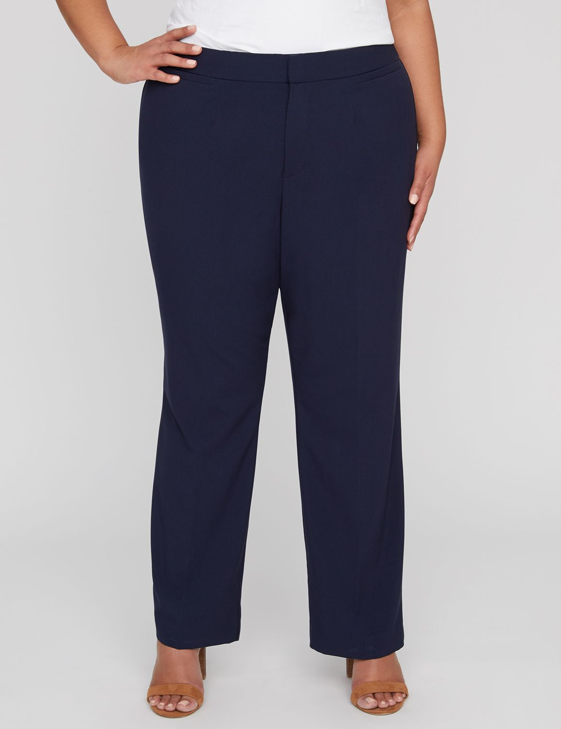 Right Fit Pant (Curvy) Right Fit Pant (Curvy) MP-300043638