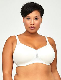 Solid No-Wire Comfortably Cool Bra