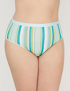 Cotton Hi-Cut Brief