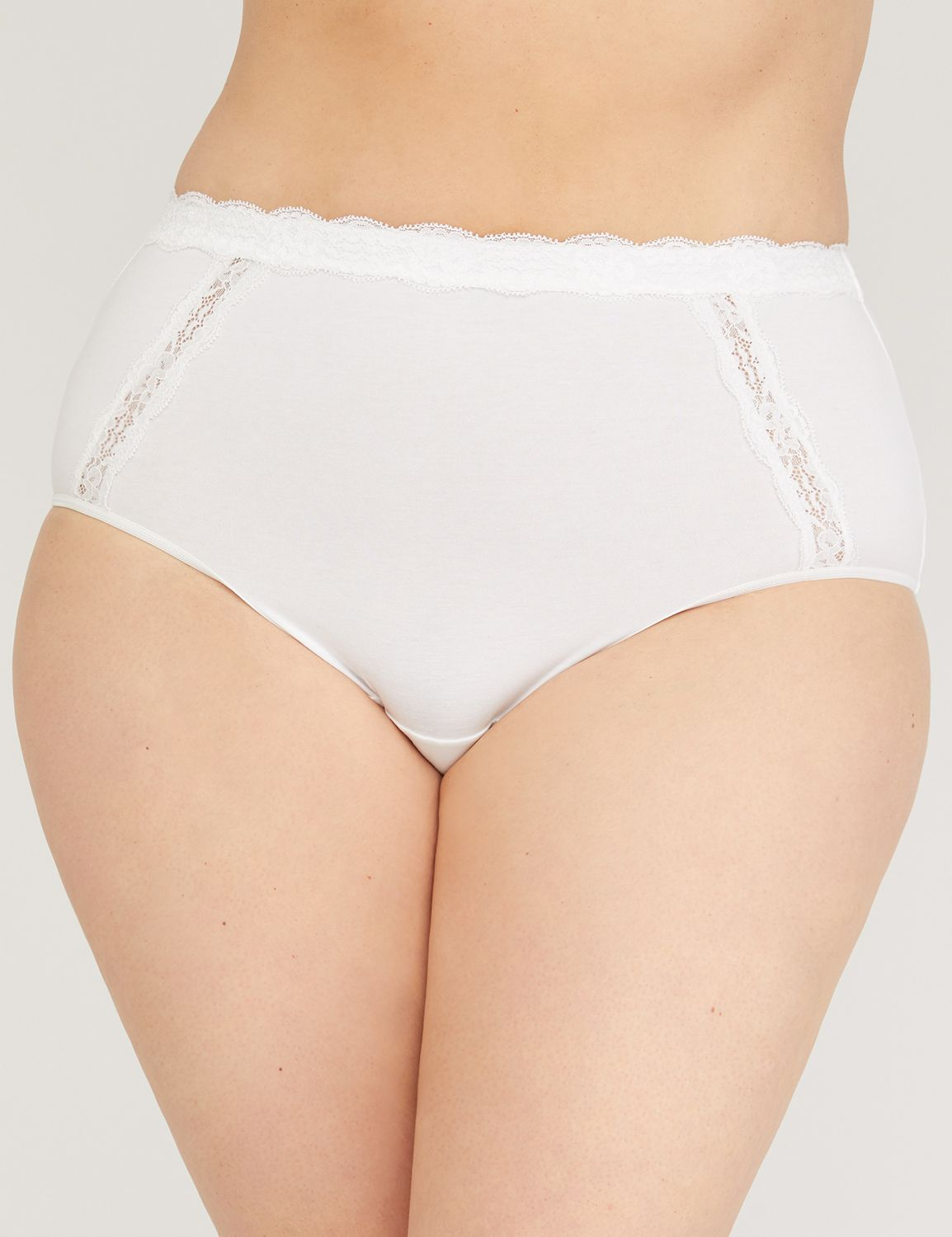 Lace Cotton Full Brief Lace Cotton Full Brief MP-300035768