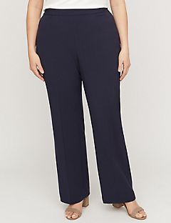 Refined Pull-On Pant