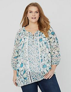 Floral Courtyard Blouse