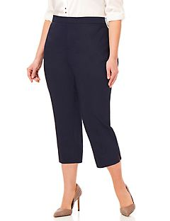 Women's Plus Size Capris, Shorts & Crop Pants | Catherines