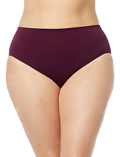 Seamless Hi-Cut Brief