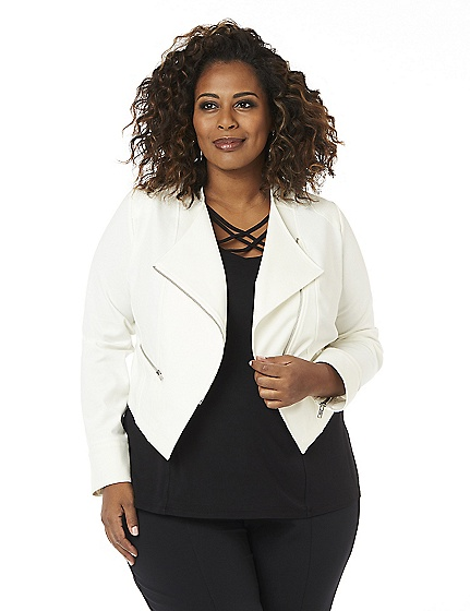 Curvy Collection Studio Jacket