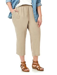 Cool & Easy Linen Capri