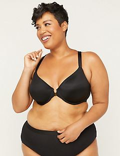 New! Front-Close Underwire T-Shirt Bra