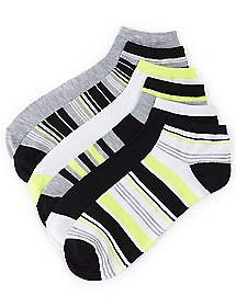 Yellow Pop 6-Pack Socks